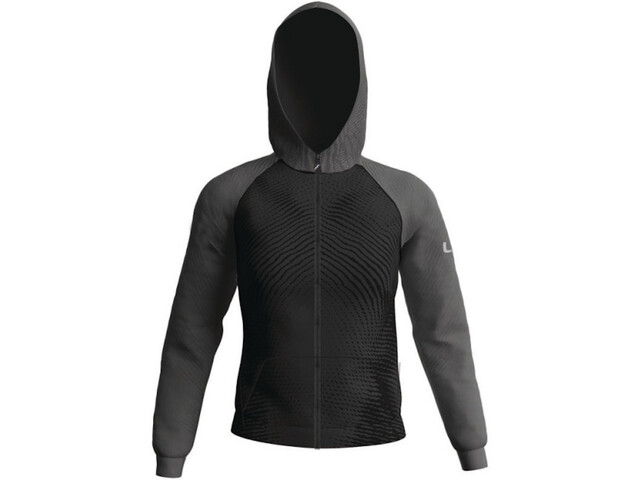 UYN Running Activyon 2.0 OW Full Zip Hooded Sweatshirt Women nine iron/iron light
